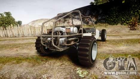 GTA V BF Dune Buggy para GTA 4 Vista posterior izquierda