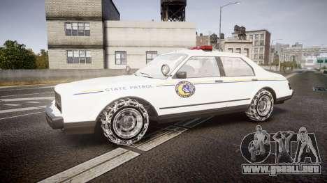 GTA V Albany Police Roadcruiser para GTA 4 left