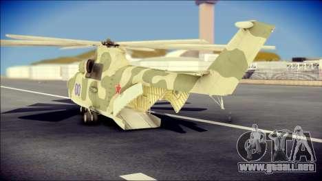 Mi-26 Halo para GTA San Andreas left
