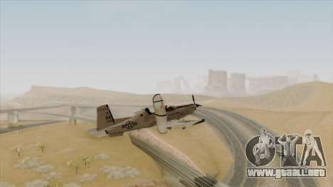 EMB T-6A Texan II US Navy para GTA San Andreas left