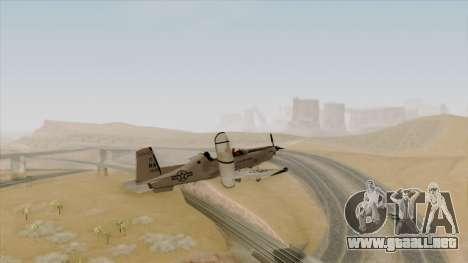 EMB T-6A Texan II US Navy para GTA San Andreas left