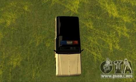 Beta Police Ranger para la visión correcta GTA San Andreas
