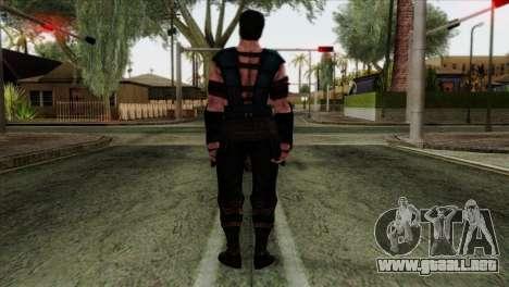 Sub-Zero Skin Mortal Kombat X para GTA San Andreas segunda pantalla
