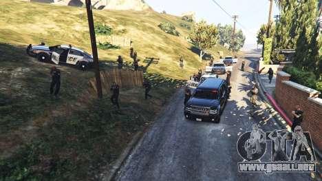 GTA 5 Hardcore Police Chasing tercera captura de pantalla