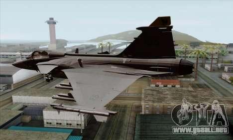 JAS-39 Gripen NG ACAH para GTA San Andreas left