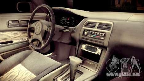 Nissan Silvia S14 Umi Sonoda Paintjob Itasha para la visión correcta GTA San Andreas