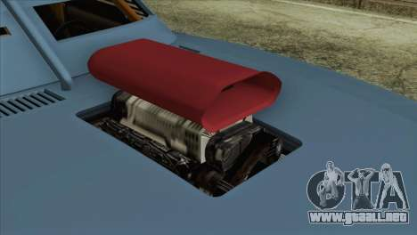 GTA 5 Imponte Dukes ODeath HQLM para GTA San Andreas vista hacia atrás