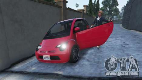 El estilo de GTA 4 la salida del vehículo para GTA 5