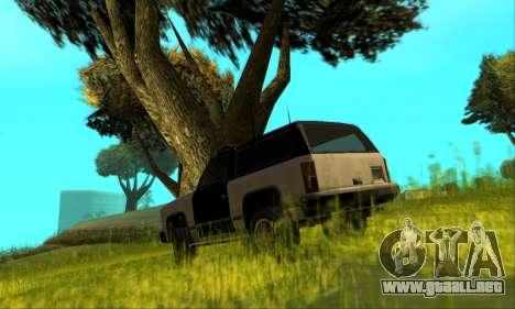 Beta Police Ranger para la vista superior GTA San Andreas