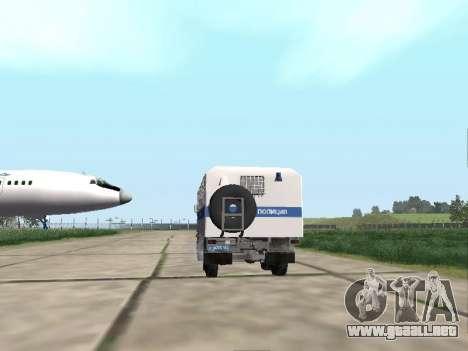 KamAZ-43114 un OMON para la visión correcta GTA San Andreas