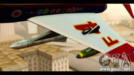 McDonnell Douglas F-4E Phantom II para la visión correcta GTA San Andreas