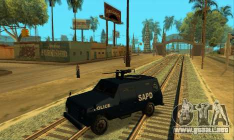 Beta FBI Truck para vista lateral GTA San Andreas