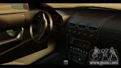 MP3 Dewbauchee XSL650R para la visión correcta GTA San Andreas