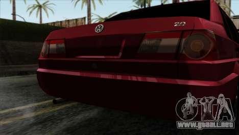 Volkswagen Santana para GTA San Andreas vista hacia atrás