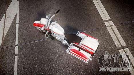 GTA V Western Motorcycle Company Sovereign POL para GTA 4 visión correcta