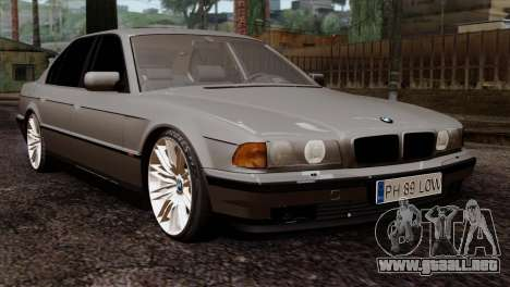 BMW 750iL E38 Romanian Edition para GTA San Andreas