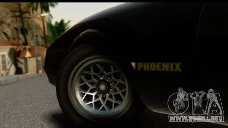 GTA 5 Imponte Phoenix IVF para visión interna GTA San Andreas