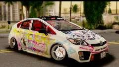 Toyota Prius Hybrid Eri Ayase Love Live Itasha