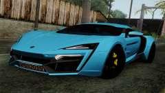 Lykan Hypersport 2014 EU Plate Livery Pack 2 para GTA San Andreas