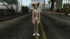 Zeta Reticoli Alien Skin from Area 51 Game para GTA San Andreas