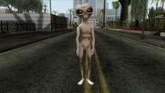 Zeta Reticoli Alien Skin from Area 51 Game