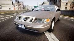 Ford Crown Victoria NYPD Unmarked [ELS] Old