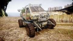 Militar camión blindado