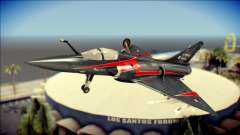 Dassault Mirage 2000-10 Black para GTA San Andreas