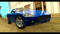 GTA 5 Ocelot F620 para GTA San Andreas