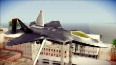 F-22 Raptor Razgriz para GTA San Andreas