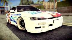 Nissan Silvia S14 Umi Sonoda Paintjob Itasha