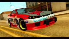 Nissan Silvia S14 Yuuki Asuna Itasha para GTA San Andreas