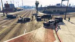 Hardcore Police Chasing para GTA 5