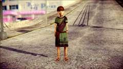 Child Vago Skin para GTA San Andreas