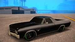 Chevrolet El Camino SS Green Hornet para GTA San Andreas