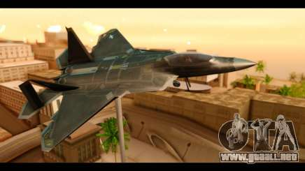 F-22 Raptor Flash para GTA San Andreas