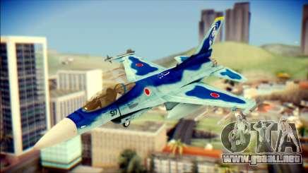 Mitsubishi F-2A JASDF v3.0 para GTA San Andreas