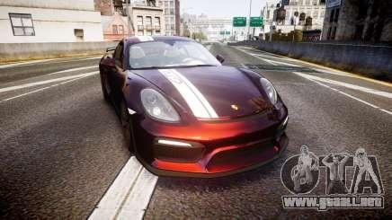 Porsche Cayman GT4 2015 para GTA 4