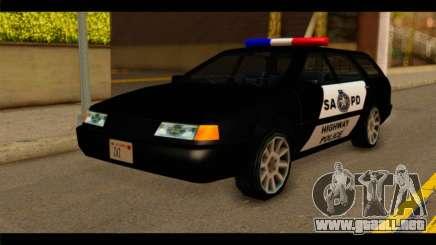 Stratum Police Highway v1.0 para GTA San Andreas