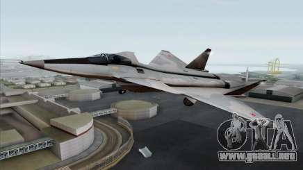 MIG 1.44 Flatpack Russian Air Force para GTA San Andreas