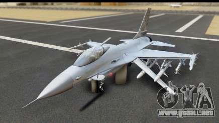 F-16C Polish Air Force Tigers para GTA San Andreas