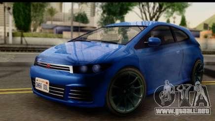 GTA 5 Dinka Blista para GTA San Andreas