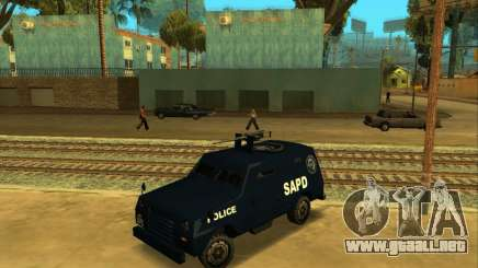Beta FBI Truck para GTA San Andreas