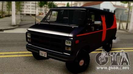 GMC Vandura G-1500 Payday 2 para GTA San Andreas