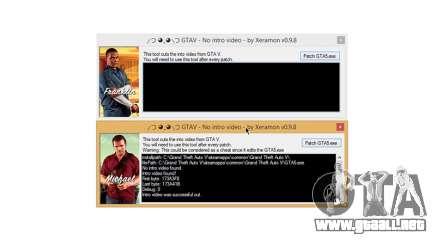 GTAV No intro video v0.9.8 para GTA 5