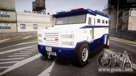 GTA V Brute Police Riot [ELS] skin 3 para GTA 4