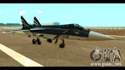 MIG-31 Pirat Squadron para GTA San Andreas