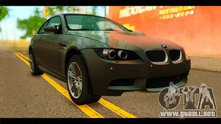 BMW M3 E92 2008 para GTA San Andreas