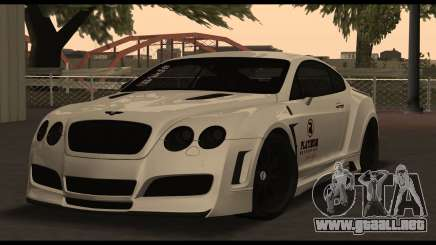 Bentley Continental GT Platinum Motorsport para GTA San Andreas