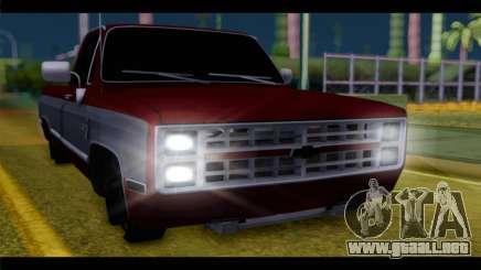 Chevrolet C10 Low para GTA San Andreas